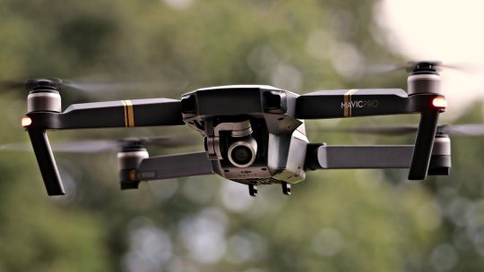 Luftaufnahmen – Quadrocopter und Drohnen