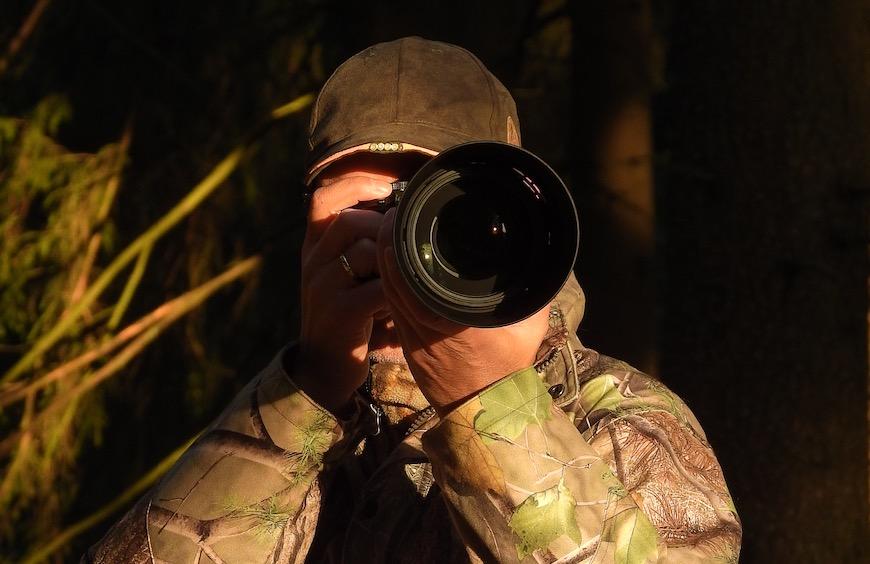 Über Naturfotografie und Jagd